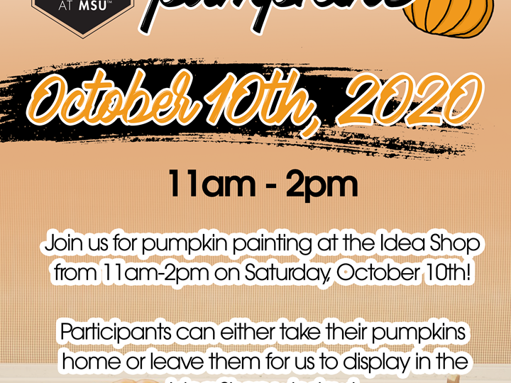 FREE Paint + Pumpkins