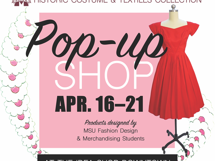 Pop-Up Shop - Historic Costume and Textiles Collection